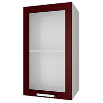 шкаф навесной L400 H720 (1 дв. рамка)