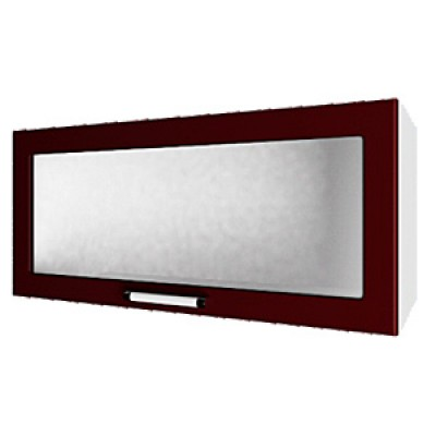 шкаф навесной L800 H360 (1 дв. рамка)