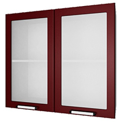 шкаф навесной L800 H720 (2 дв. рамка)