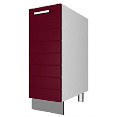 шкаф рабочий L200 (1 дв. глух.)
